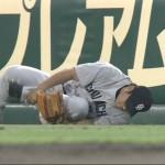 6/27 中日VS阪神「平田が怪我しちゃったよ~(;_;)早期復帰願う」