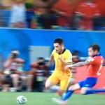ワールドカップ。チリ対オーストラリアを実況「決定力という強み」