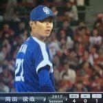 【心配】中継ぎ・岡田俊哉が今季2度目の登録抹消